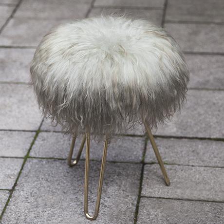 Lambskin_Vanity_stool_seating_furniture