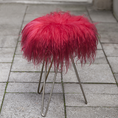 Lambskin_Vanity_stool_red_interior