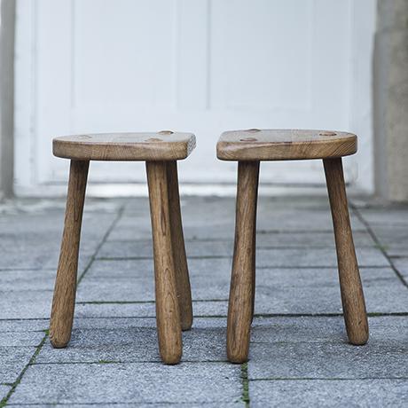 Stilmobler_oak_stools_vintage