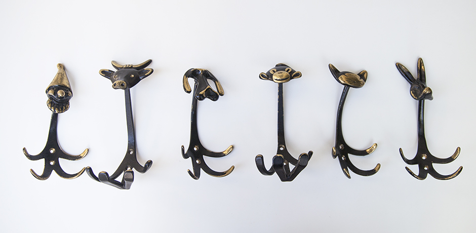 Schlichtes DesignBosse_animal_coat_hangers