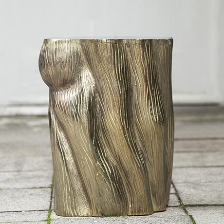 Baumstumpf_Beistelltisch_Tisch_messing_gold