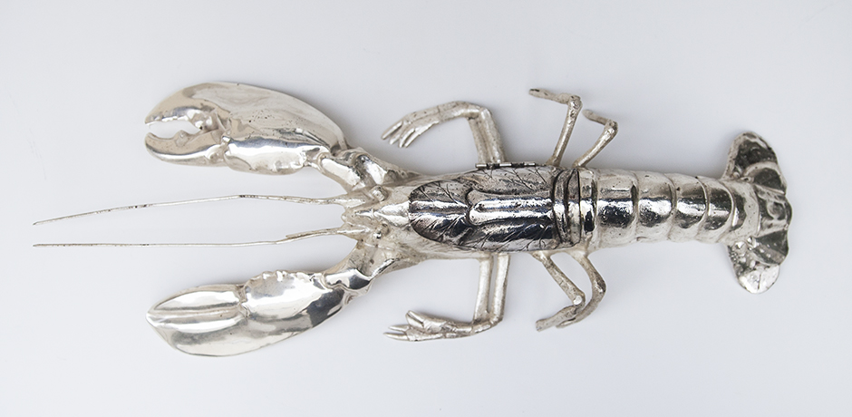 Franco_Lapini_lobster_silver_plated_1