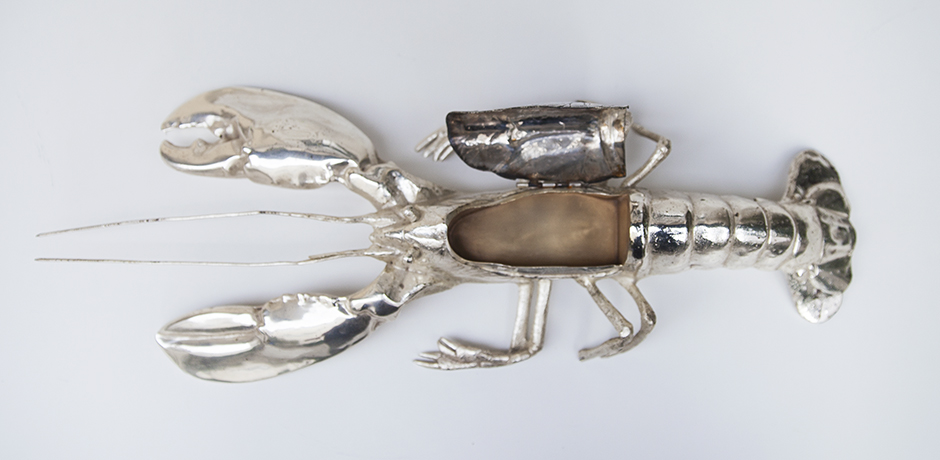 Franco_Lapini_lobster_silver_plated_3