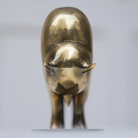 Hagenauer_bull_brass_model_8