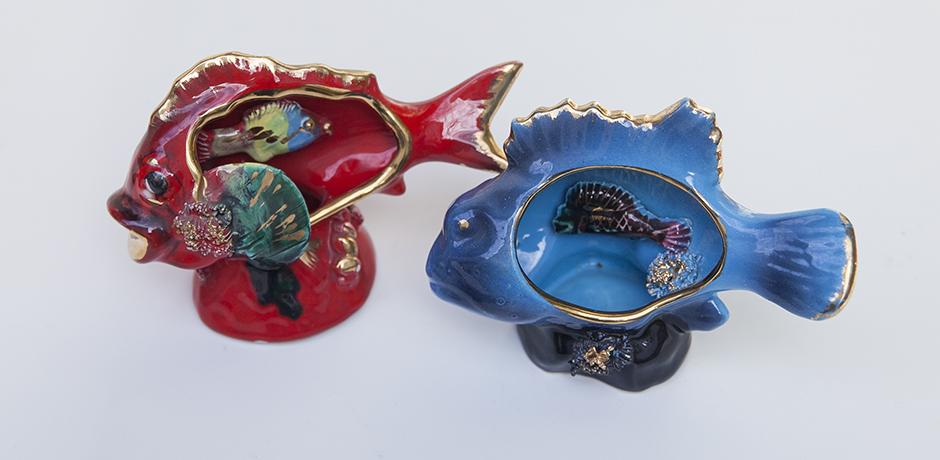 Vallauris_porcelain_fish_lamps_2