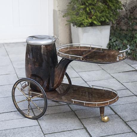 Aldo_Tura_bar_cart_pipe_brown_1