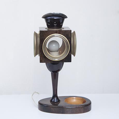 Aldo_Tura_lantern_table_lamp_brown_3