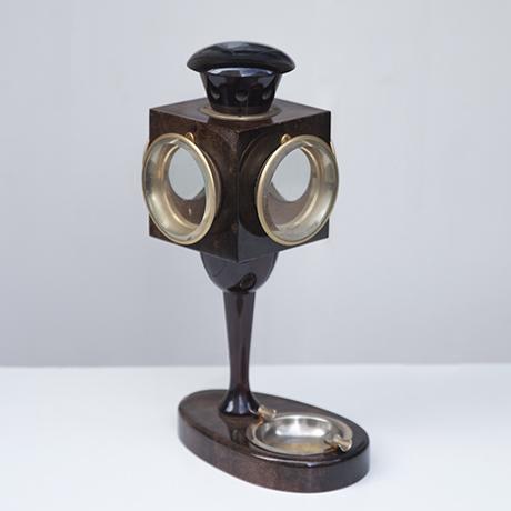 Aldo_Tura_lantern_table_lamp_brown_4