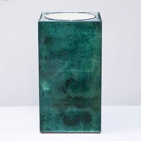 Schlichtes DesignAldo_Tura_umbrella_stand_green_1