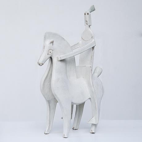 Bruno_Gambone_knight_rider_horse_1