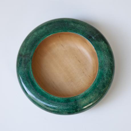 Aldo Tura_bowl astray_green_4