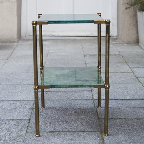 Aldo_Tura_side_table_green_vintage
