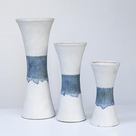Bruno_Gambone_vase_ceramics_white_blue
