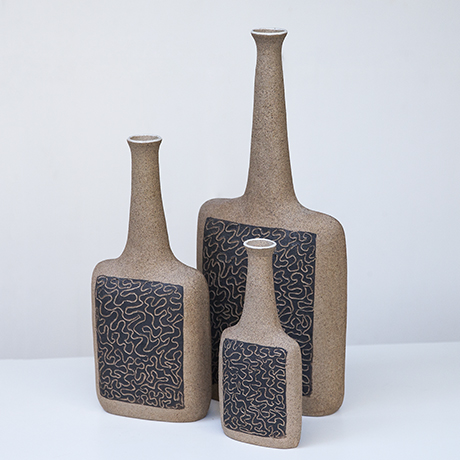 Bruno_Gambone_vase_raw_brown