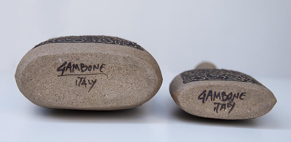Bruno_Gambone_vases_raw_stoneware_relief_7