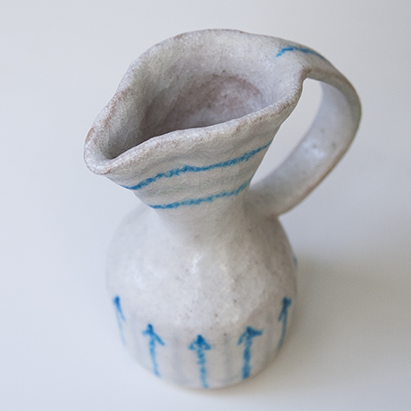 Guido_Gambone_pitcher_signed_ceramic