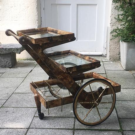 Aldo-Tura-barwagen-braun-goatskin