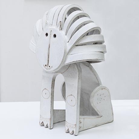 Gambone-ceramic-stoneware-lion-white_2