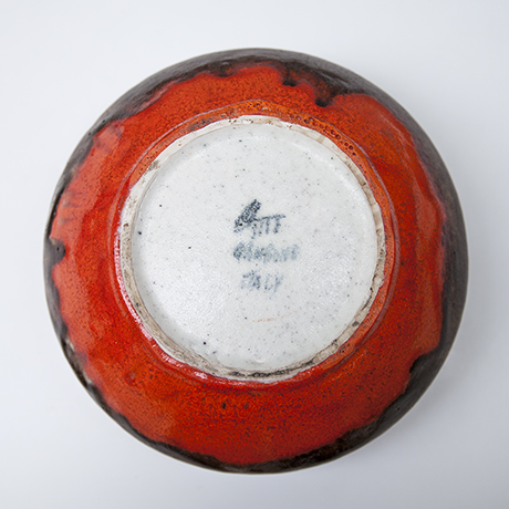 guido-gambone-stoneware-bowl-donkey-keramik-schuessel