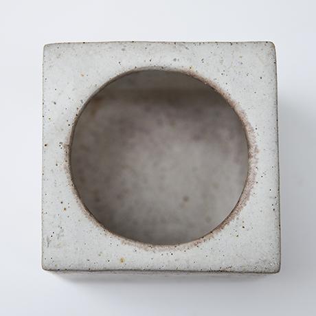 bruno-gambone-stoneware-greige-brown-bowl-keramik-schuessel-vase