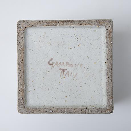 Gambone-stoneware-ceramic-vase-bowl-signed