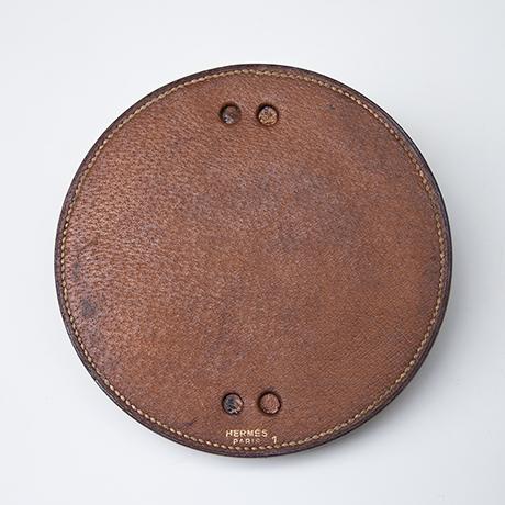 Hermes-porthole-bowl-leather-brown_signed