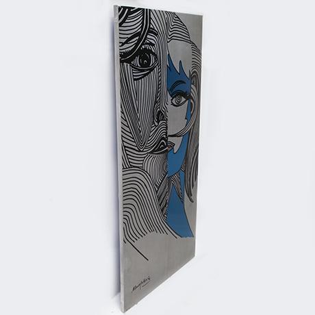 Meneghetti-Pop-Art-aluminum-wandbild