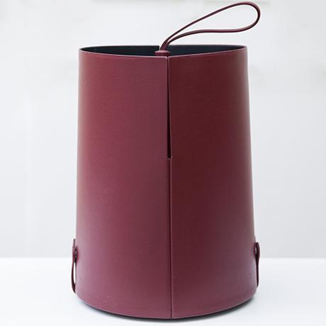 Poltrona-Frau-umbrella-stand-purple-leather_3