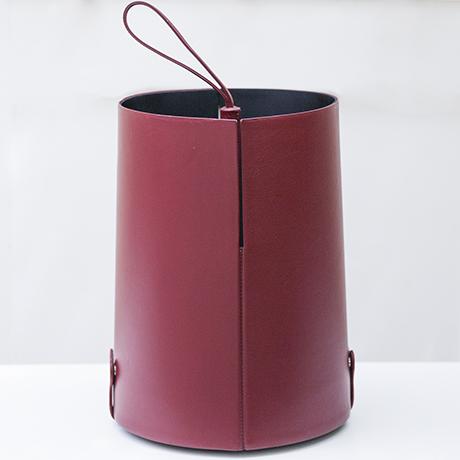 Poltrona-Frau-umbrella-stand-purple-leather_7