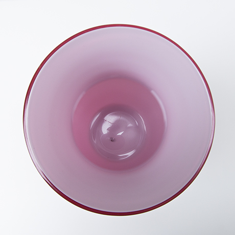 Venini-Murano-vase-pink-glas-rosa