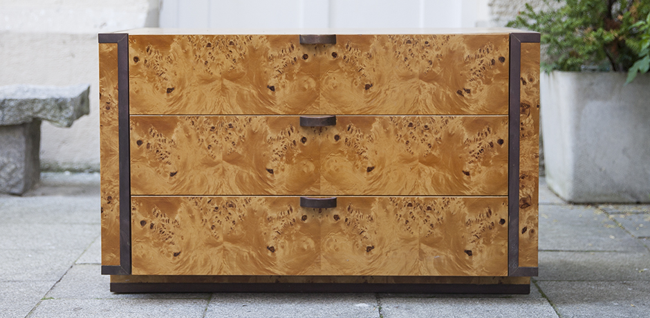 Schlichtes Designwilly-rizzo-burlwood-dresser