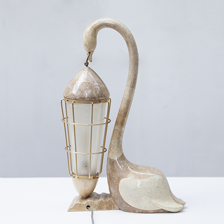 Aldo-Tura-swan-table-lamp_goatskin