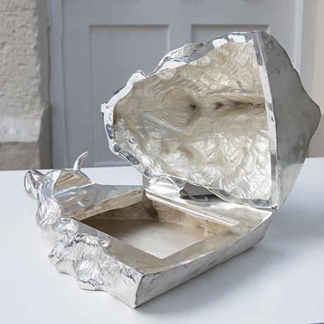 Franco-Lapini-boar-centerpiece-silver_6