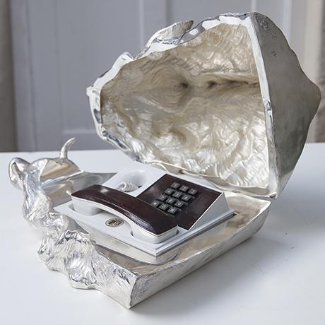 Franco-Lapini-boar-centerpiece-silver_8