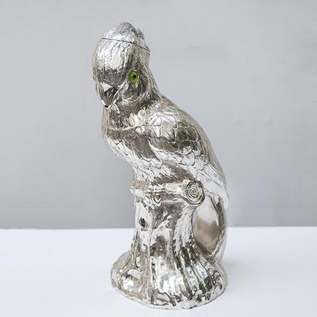 Franco-Lapini-cockatoo-pitcher-silver