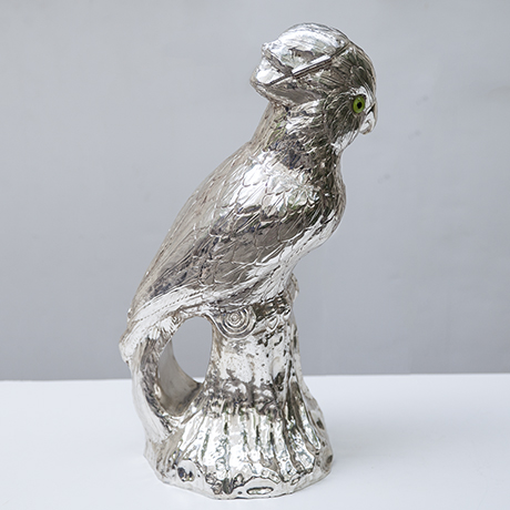 Franco-Lapini-cockatoo-centerpiece-silver