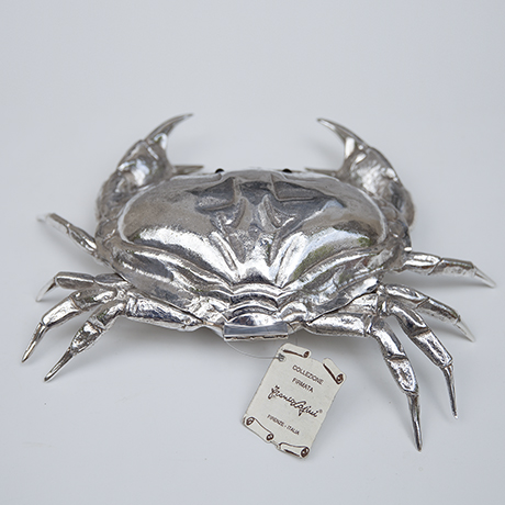 Franco-Lapini-crab-krabbe-silber