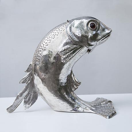Franco-Lapini-dolphin-centerpiece-silver_1