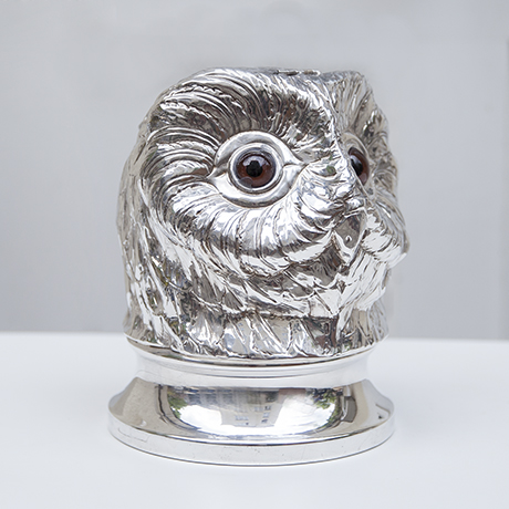Franco-Lapini-owl-ice-bucket-silver_1