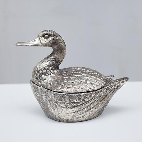 Schlichtes DesignManetti-duck-ice-bucket-silver_1