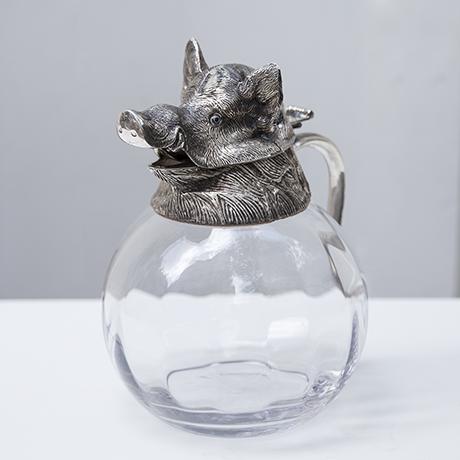 Valenti-wild-boar-caraffe-silver_5