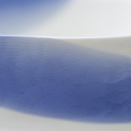 Venini-Murano-schalen-blau-weiss