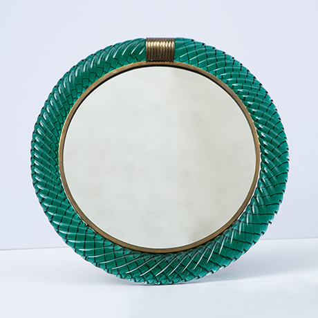 Seguso-Vanity-Murano-mirror-green_1