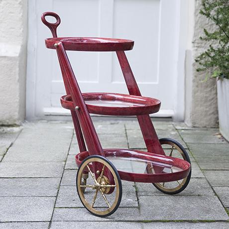 Aldo-Tura-barwagen-rot-goatskin