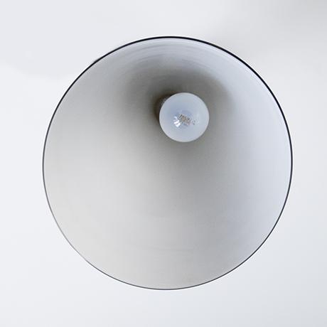 Fontana-Arte-ceiling-lamp-cone-grey