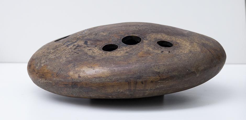 Helmuth-Schaeffenacker-vase-ceramic-brown-glazed