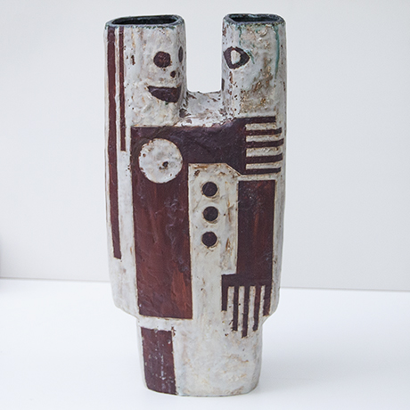 Helmuth-Schaeffenacker-vase-ceramic-red-white