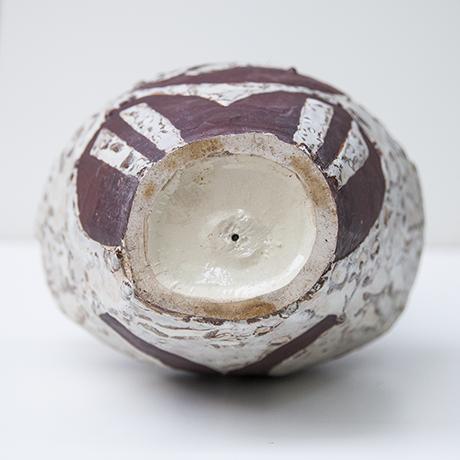 Helmuth-Schaeffenacker-vase-keramik-weiss-rot-steinzeug
