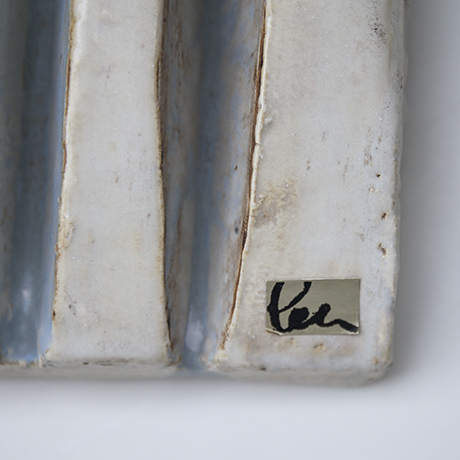 Helmuth-Schaeffenacker-wall-relief-waves-light-blue-ceramic