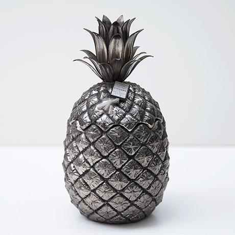 mauro-manetti-pineapple-ice-bucket-silver